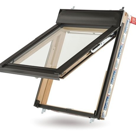 Keylite Clear Lacquered Pine Top Hung Roof Windows - Triple Glazed - TFE KTG