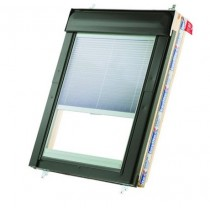 Keylite White Painted Pine Centre Pivot Roof Windows - Manual Integral Blind - WFCP I