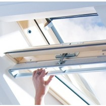 Keylite Clear Lacquered Pine Centre Pivot Roof Window - Thermal Glazing - TCP T