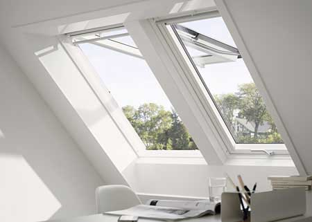 VELUX top hung roof windows